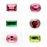 Semi-Precious Stones Stock Photos