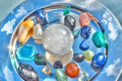 Semi-precious stones Royalty Free Stock Photos