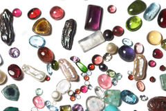 Semi-precious stones Royalty Free Stock Photo