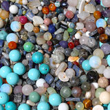 Semi precious stones Stock Images