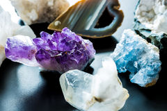 Semi precious stones Royalty Free Stock Images