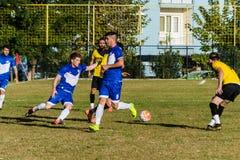Semi Pro Local Football League Match