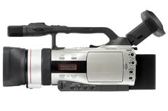 Semi professional camcorder Royalty Free Stock Photography
