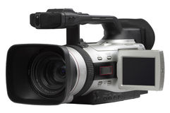 Semi professional camcorder Stock Photo