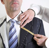 Semi-ready, Elegant Tailor Made Suit Royalty Free Stock Photo
