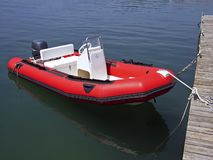 Semi-rigid Boat Stock Images