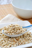 Semi secchi dell'orzo come ingredienti di alimento Fotografie Stock