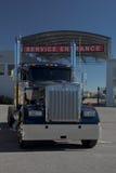 Semi serviço Foto de Stock