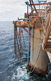 Semi-Submersible Drilling Rig Stock Images