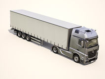 Semi-trailer truck Royalty Free Stock Photos