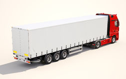 Semi-trailer truck Stock Photography