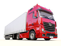 Semi-trailer truck Stock Photos