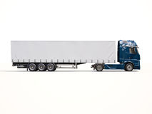 Semi-trailer truck Royalty Free Stock Photos