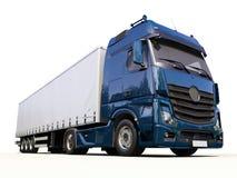 Semi-trailer truck Royalty Free Stock Photo