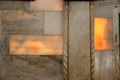 Semi-transparent Marble Slabs Stock Photo