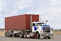 Semi truck Royalty Free Stock Photos