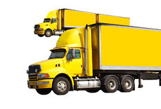 Semi truck Royalty Free Stock Image