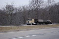 Semi Truck Royalty Free Stock Photography