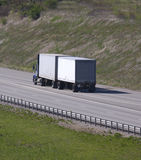 Semi Truck Stock Photography