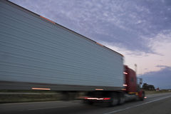 Semi Truck Royalty Free Stock Image