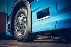 Semi Truck Closeup Photo stock image