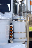 Semi Truck Detail Stock Photography