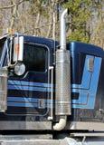 Semi Truck Detail Royalty Free Stock Photos