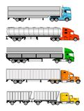 Semi trucks Royalty Free Stock Image