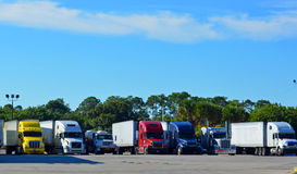 Semi Trucks/Big Rigs Royalty Free Stock Image