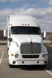 Semi táxi do caminhão Fotos de Stock Royalty Free