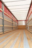 Semi verticale del camion Fotografia Stock Libera da Diritti