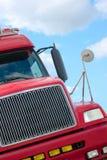 Semi-vrachtwagen Royalty-vrije Stock Foto
