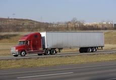 Semi Vrachtwagen Stock Afbeeldingen