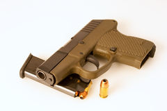 Semiautomatic pistol Stock Images