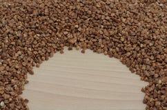 Semicerchio e grano saraceno Immagini Stock Libere da Diritti