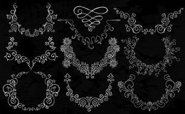 Semicircular ornaments Royalty Free Stock Image