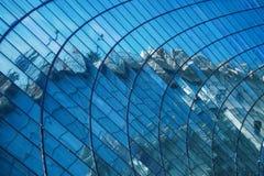 The semicircular windows Royalty Free Stock Photos
