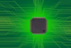 Semiconductor, viruta imagen de archivo