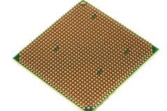 Semiconductores de la placa madre imágenes de archivo libres de regalías
