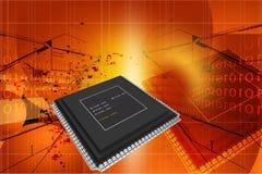Semicondutor ilustração stock