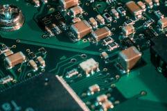 Semicondutor da placa do PWB fotografia de stock royalty free
