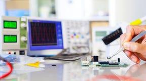 Semicondutor da substituição foto de stock