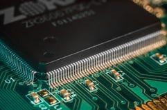 Semiconduttore del bordo del PWB Fotografia Stock