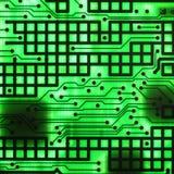 Semiconduttore elettronico Fotografie Stock Libere da Diritti