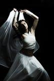 semidarkness танцы стоковая фотография rf