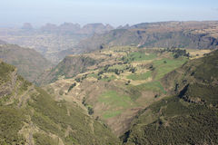 Semien Mountains National Park, Ethiopia, Africa Royalty Free Stock Photography