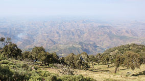Semien Mountains National Park, Ethiopia, Africa Royalty Free Stock Image
