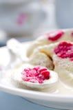 Semifreddo десерта мороженого поленики Стоковые Фото