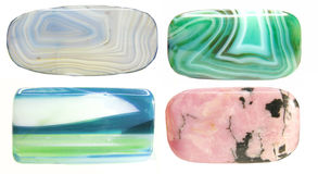 Semigem geological minerals crystals Stock Photography