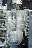Semilavorati della bottiglia dell'ANIMALE DOMESTICO fotografie stock libere da diritti
